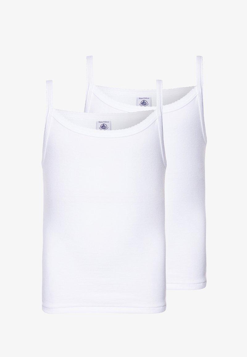 Petit Bateau - 2 PACK - Undershirt - white