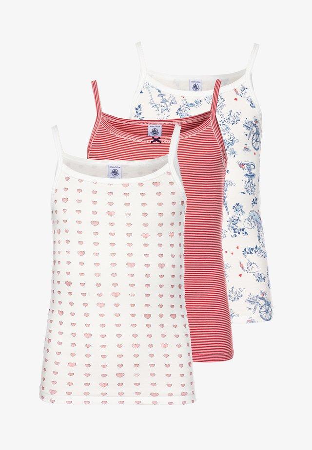 3 PACK - Unterhemd/-shirt - multicolor