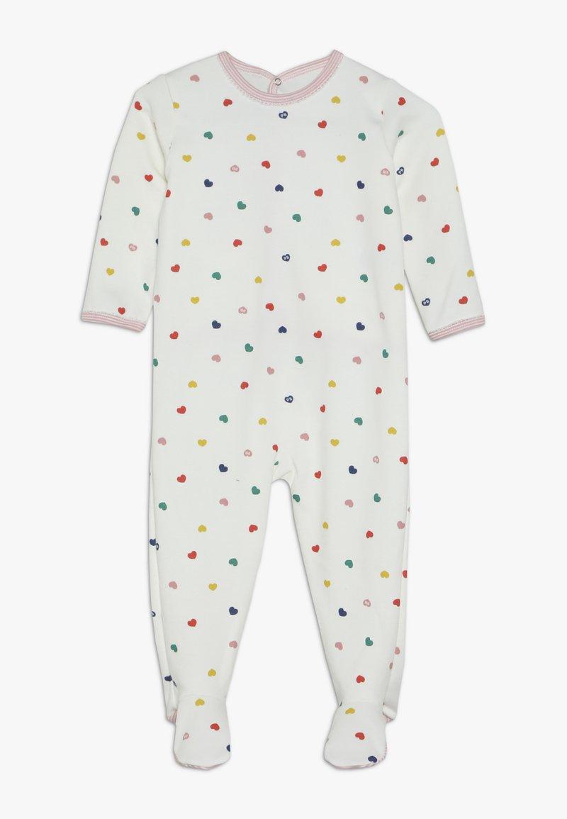 Petit Bateau - DORS BIEN PONTBABY - Pyjamaser - marshmallow/multicolor