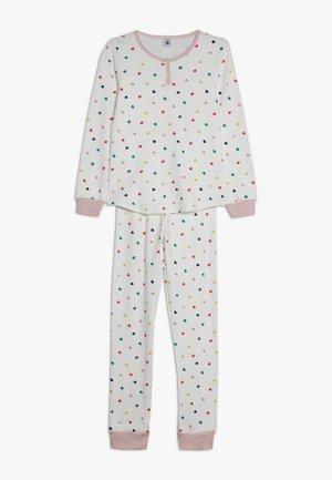 CORAZON SET - Pyjama - marshmallow/multicolor