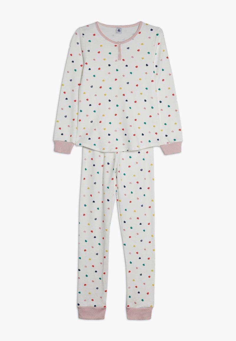 Petit Bateau - CORAZON SET - Pijama - marshmallow/multicolor
