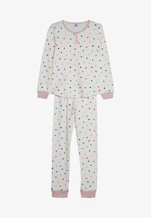 CORAZON SET - Pyjama set - marshmallow/multicolor