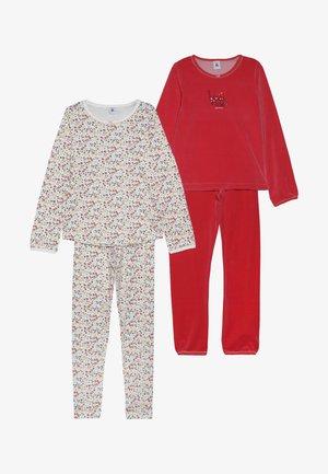 COQUEC 2 PACK - Pyjama set - white