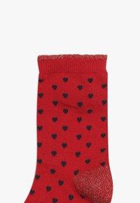 Petit Bateau - CHAUSSETTES 5 PACK - Socks - red/white/dark blue - 4