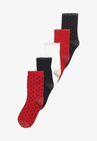 Petit Bateau - CHAUSSETTES 5 PACK - Socks - red/white/dark blue - 3