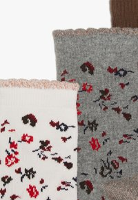Petit Bateau - CHAUSS 5 PACK - Socks - mottled grey/light pink - 6