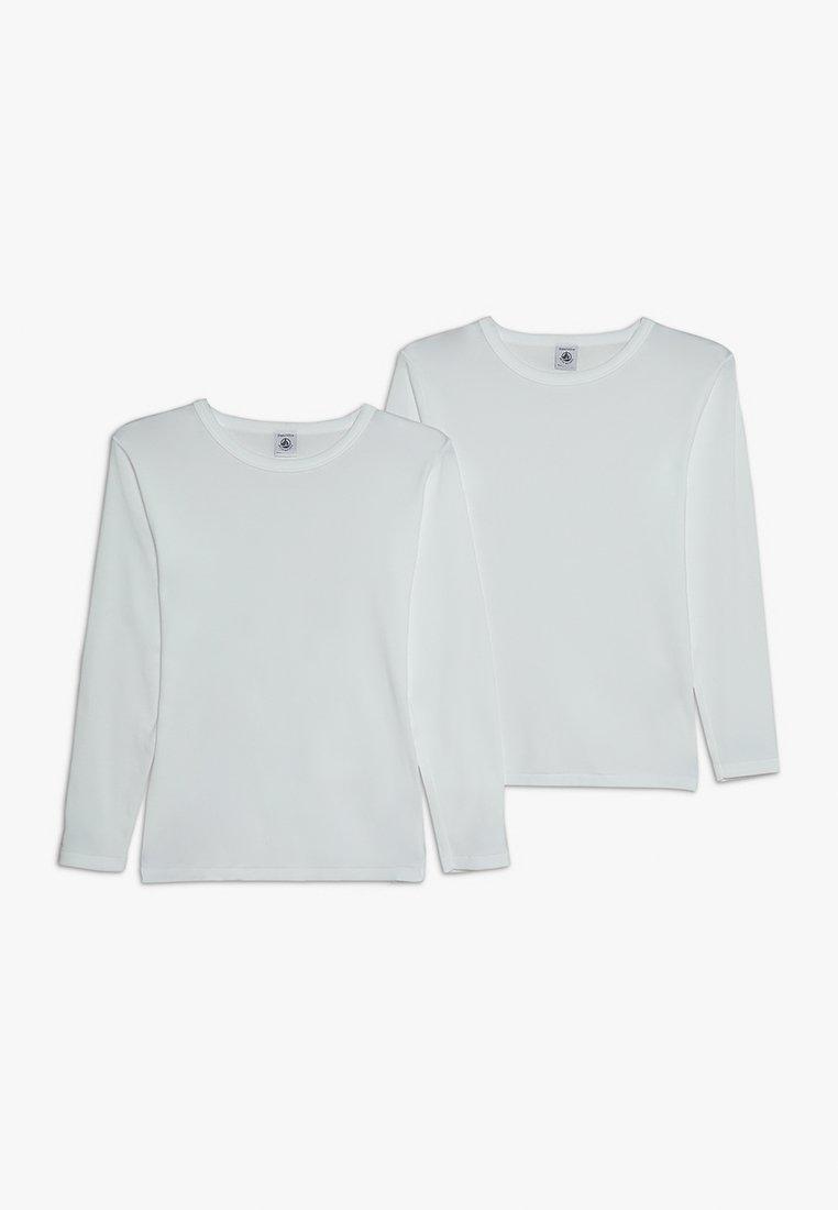 Petit Bateau - LOT 2 PACK - Camiseta interior - white