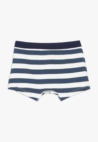Petit Bateau - BOXERS 2 PACK - Pants - white/blue - 2