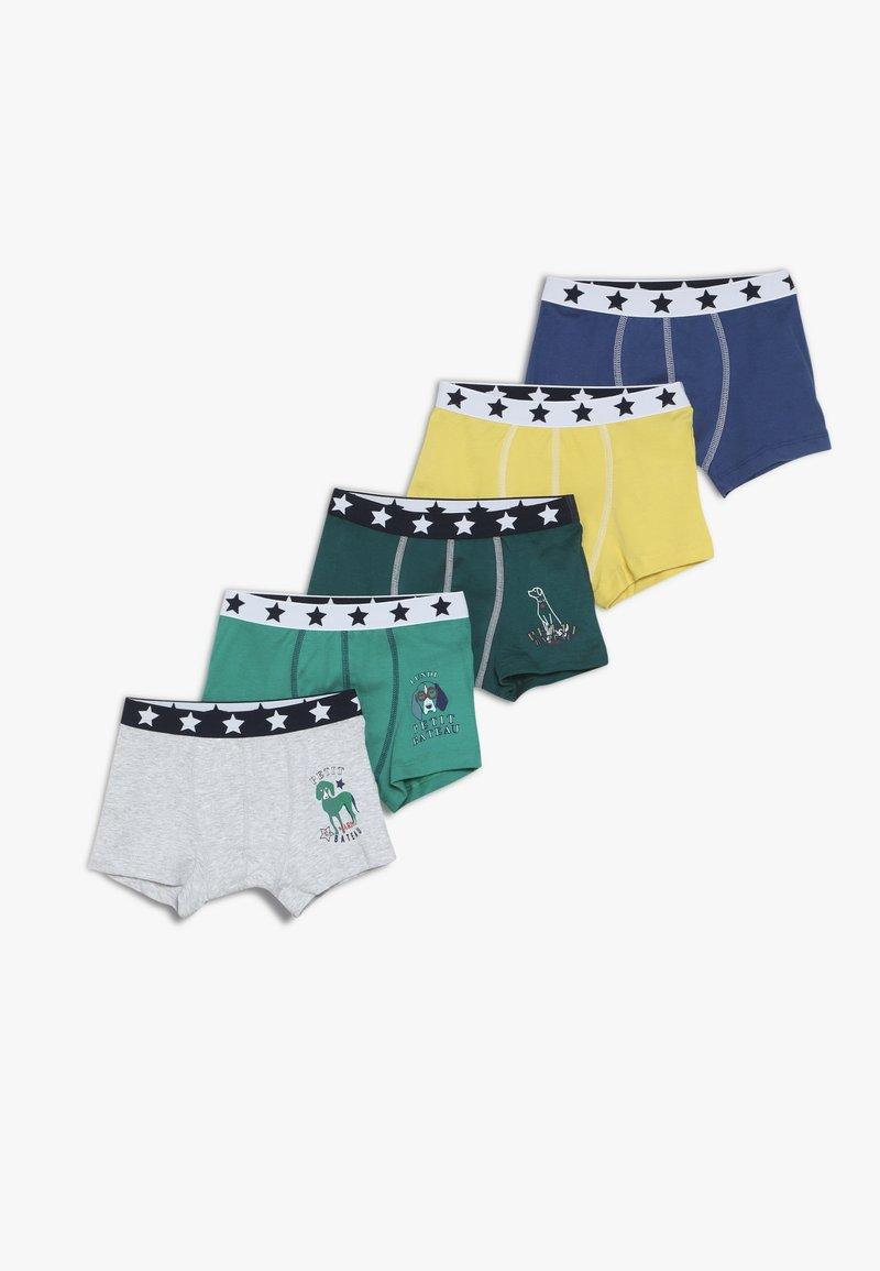 Petit Bateau - BOXERS 5 PACK - Panties - multicolor