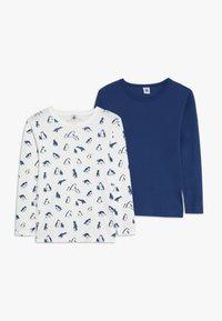 Petit Bateau - 2 PACK - Camiseta interior - white - 0
