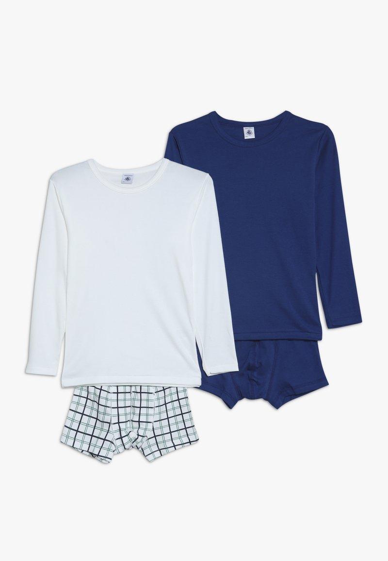 Petit Bateau - LOT CARREA 2 PACK - Underwear set - white
