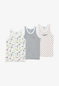 Petit Bateau - 3 PACK - Camiseta interior - white - 3