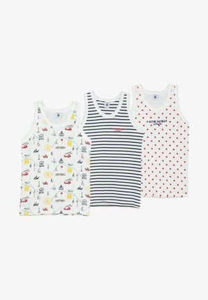 3 PACK - Undershirt - white