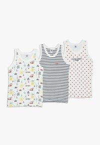 Petit Bateau - 3 PACK - Camiseta interior - white - 0