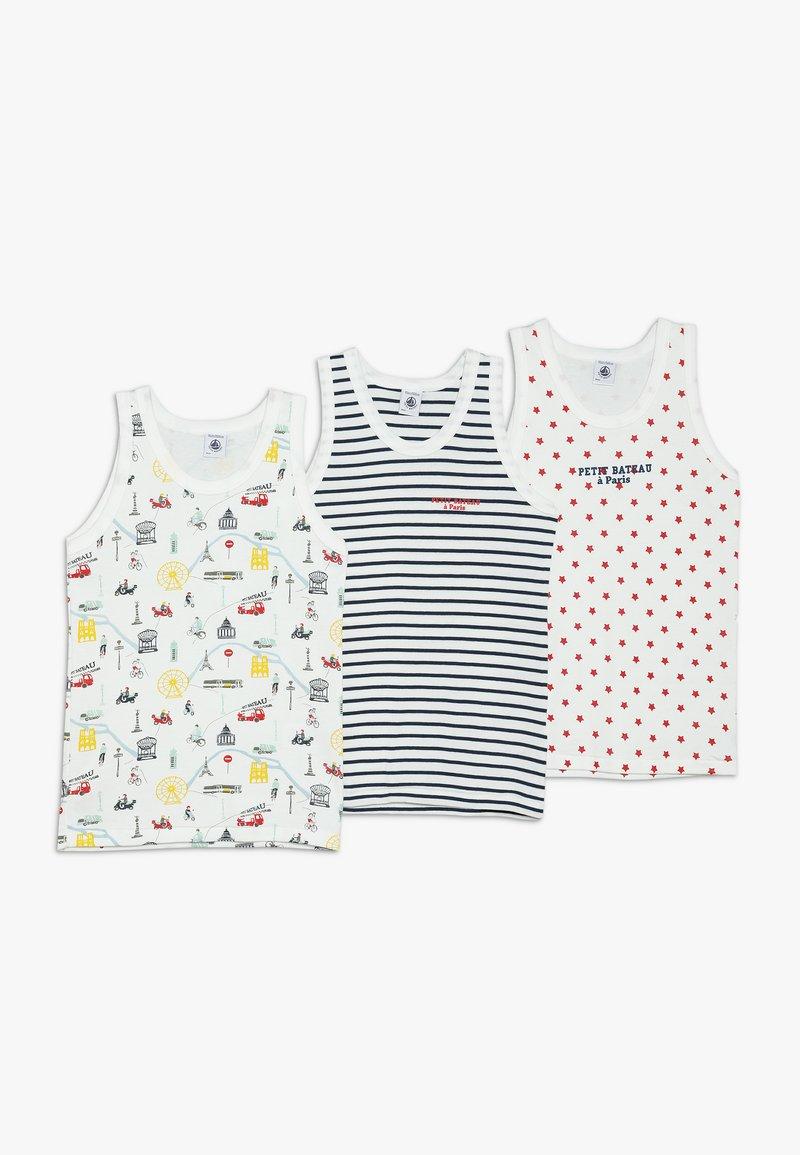 Petit Bateau - 3 PACK - Camiseta interior - white