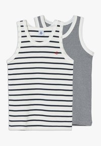Petit Bateau - DEBARDEURS 2 PACK - Undershirt - white/blue - 0