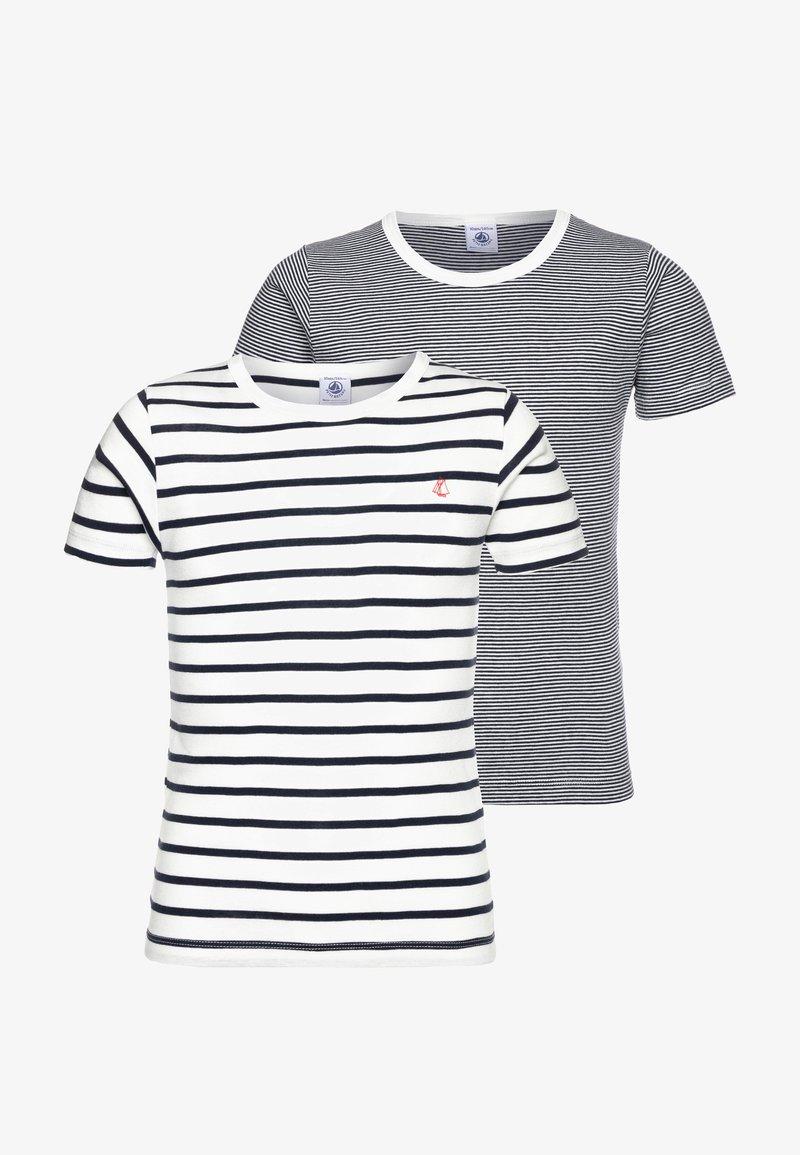Petit Bateau - 2 PACK - Undershirt - white/blue