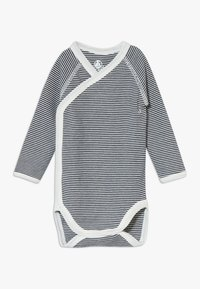 Petit Bateau - NAISS 3 PACK - Body - marshmallow/smoking - 2