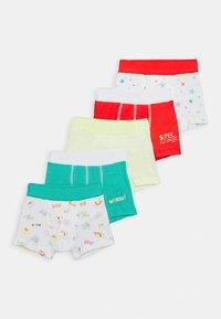 Petit Bateau - BOXERS 5 PACK - Pants - multi-coloured/green/red - 0