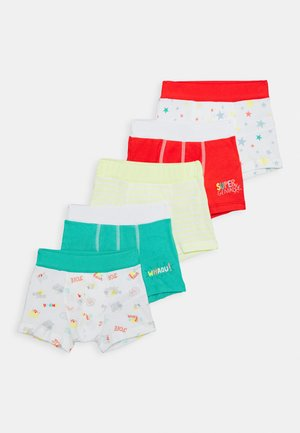 BOXERS 5 PACK - Pants - multi-coloured/green/red
