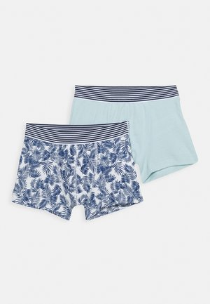 BOXERS 2 PACK - Pants - blue/green