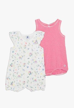 COMBICOURTS 2 PACK - Pyjama - marshmallow/multicolor
