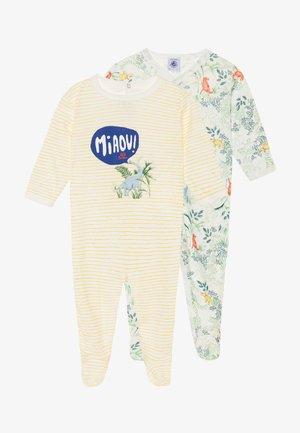 DORS BIEN 2 PACK - Pyjamas - marshmallow/multicolor/shine