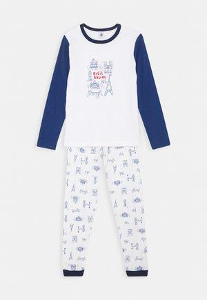 LIEVRE SET - Pyjama set - marshmallow/bleu