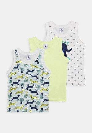 DEBARDEURS 3 PACK - Pyjama top - coloured/pink/yellow