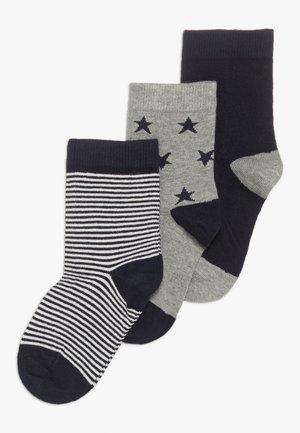 CHAUSS 3 PACK - Socks - dark blue