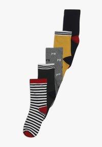 Petit Bateau - CHAUSS 5 PACK - Socks - dark blue/green/yellow - 0