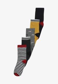 Petit Bateau - CHAUSS 5 PACK - Socks - dark blue/green/yellow - 4