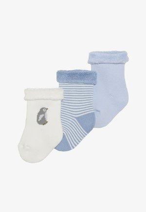 CHAUSS BABY 3 PACK - Socken - white/dark blue