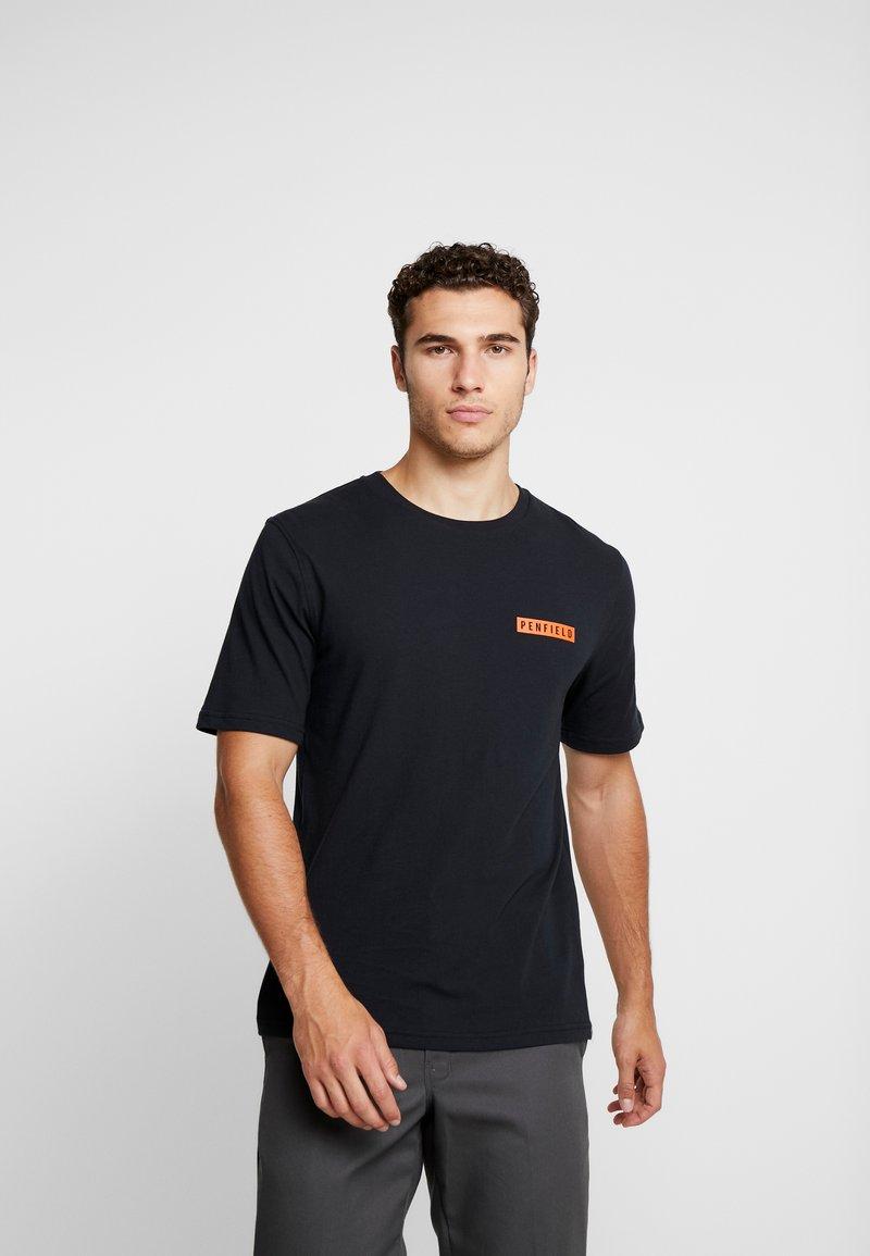 Penfield - MILLER - T-Shirt print - black