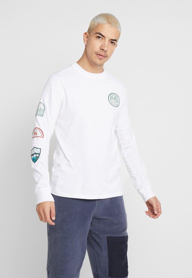 STORRS - Långärmad tröja - white