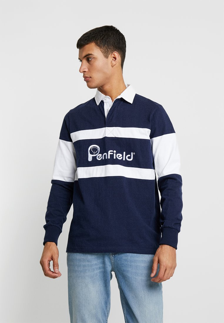 Penfield - CASS RUGBY - Polo shirt - navy