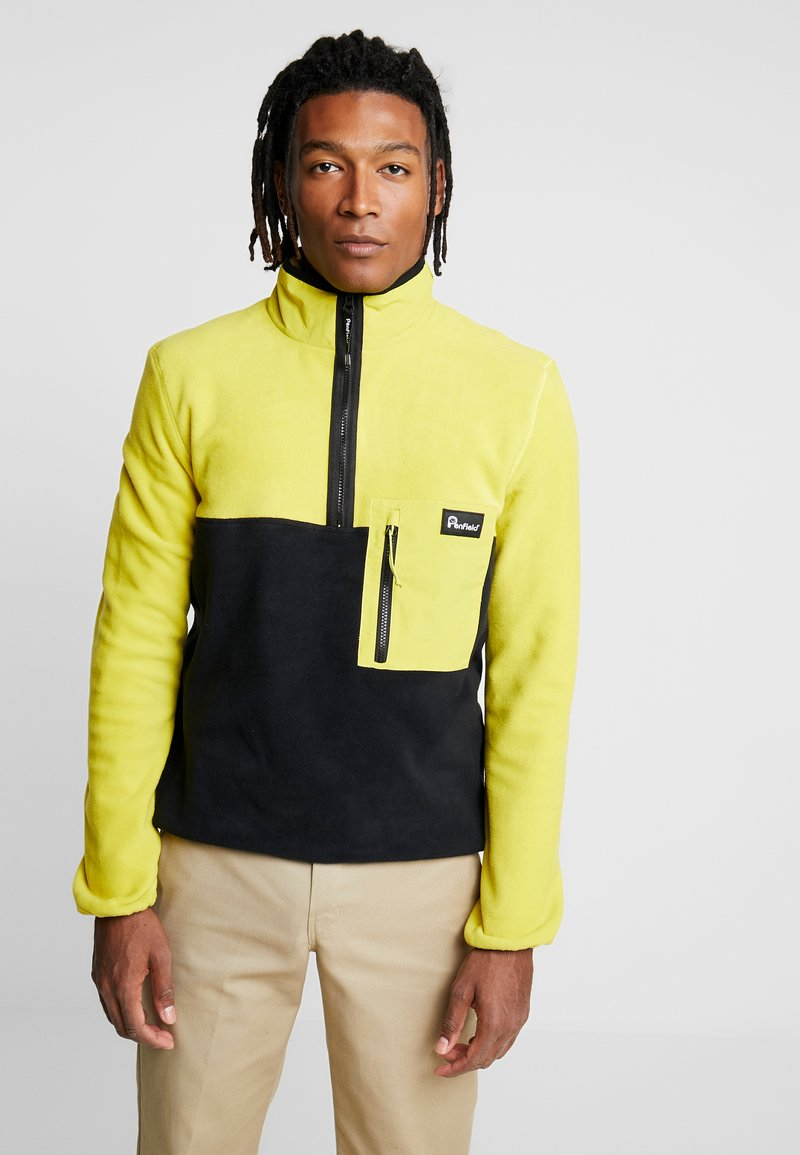 Penfield - HYNES - Fleece trui - citrus