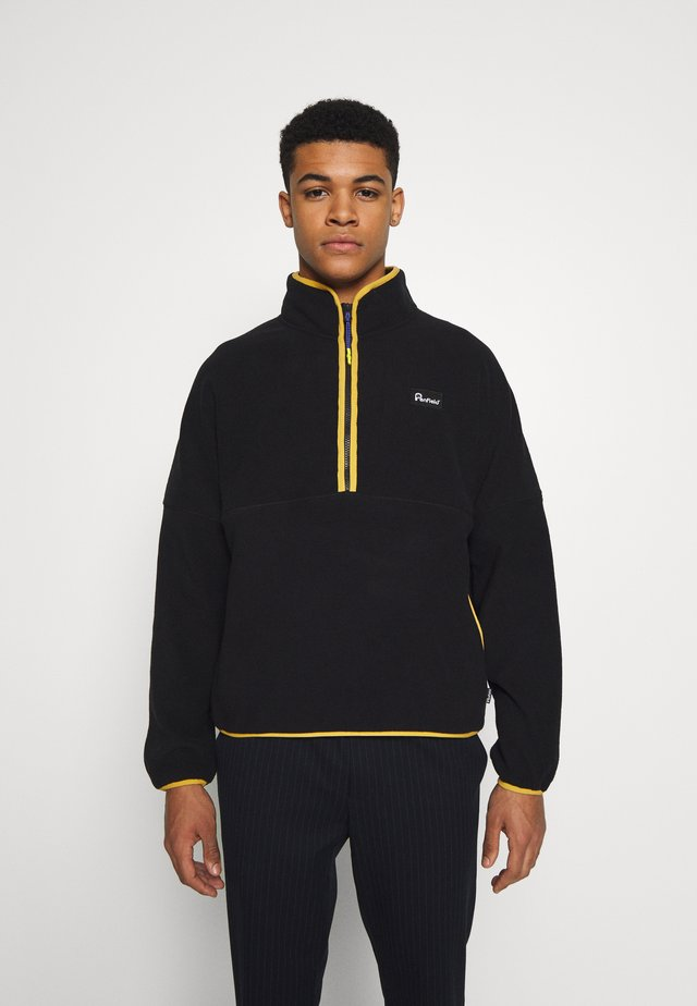 MELWOOD - Felpa in pile - black