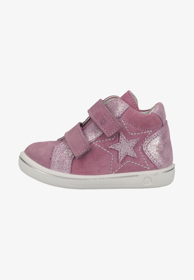 High-top trainers - purple