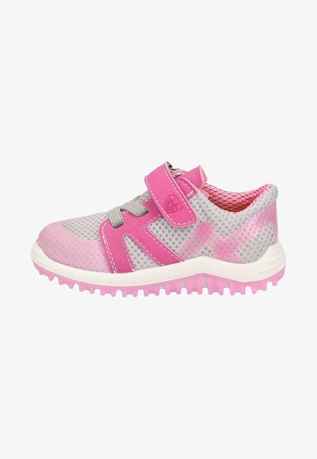 Baskets basses - grey/pink