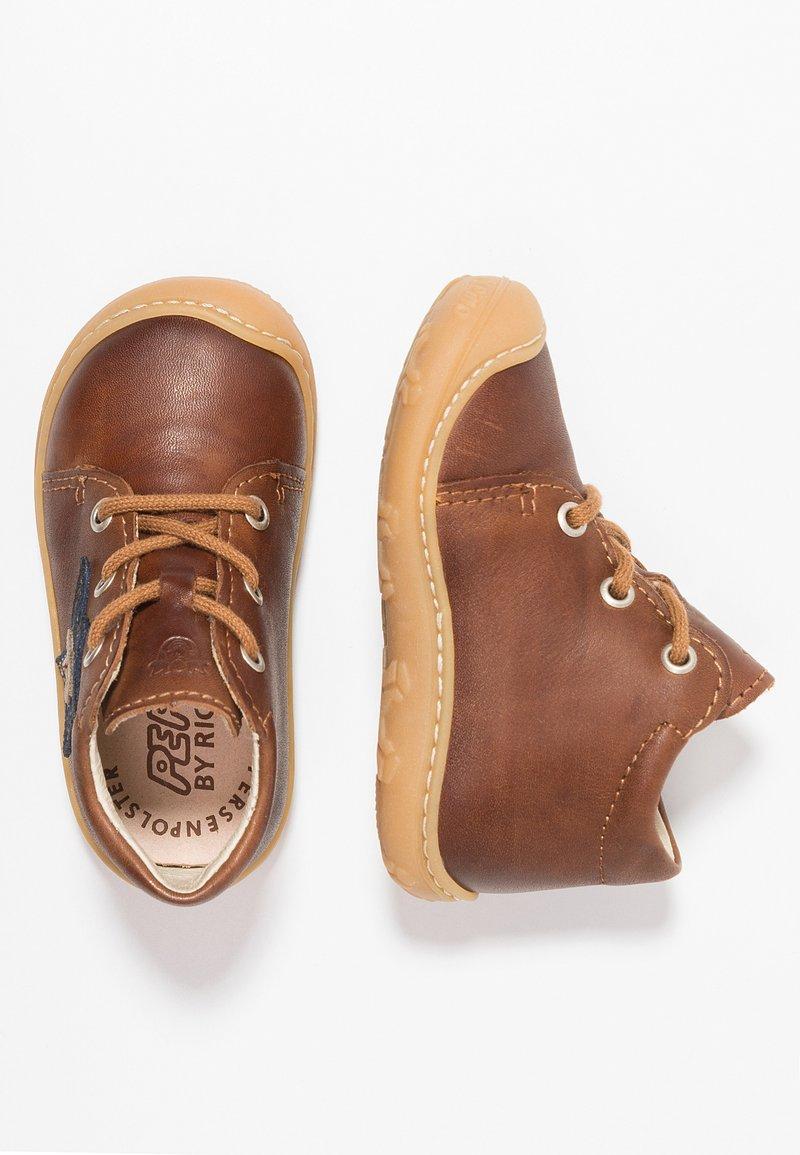 Pepino - ROMY - Baby shoes - cognac