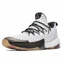 PEAK - MIT PROFILIERTER SOHLE - Basketball shoes - weiß - schwarz - 2
