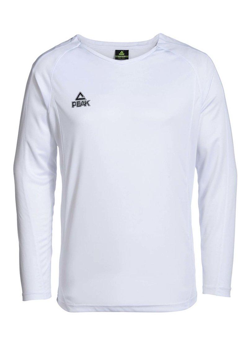 PEAK - SHOOTING SHIRT ENERGY - Long sleeved top - weiß