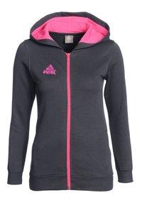 PEAK - Zip-up hoodie - grau pink - 0