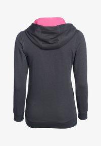 PEAK - Zip-up hoodie - grau pink - 1