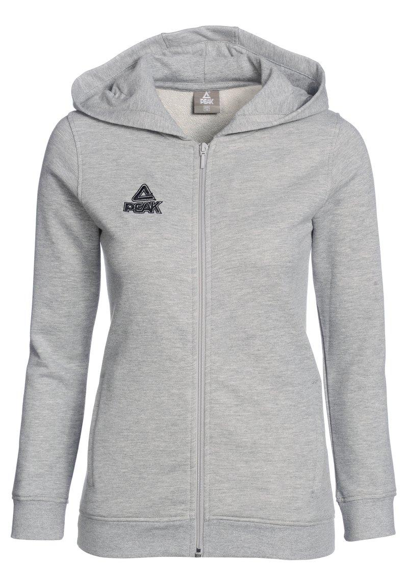 PEAK - Zip-up hoodie - grau
