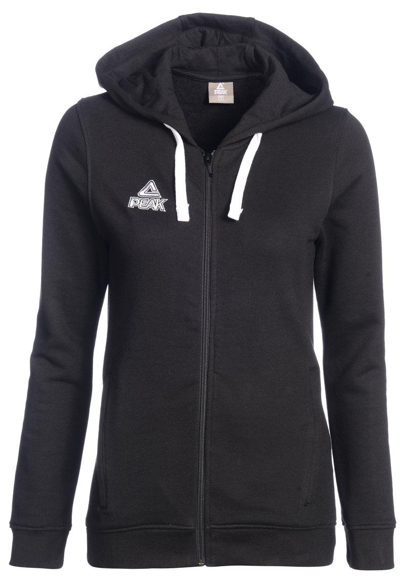 PEAK - Zip-up hoodie - schwarz