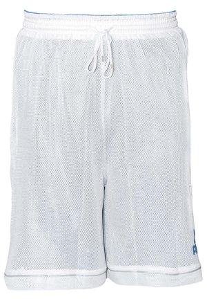 Sports shorts - wit-blauw