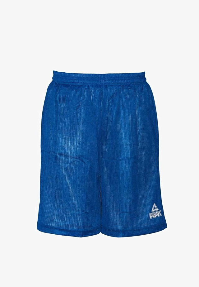 Sports shorts - blauw-wit