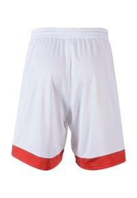 PEAK - Sports shorts - blanc - 1